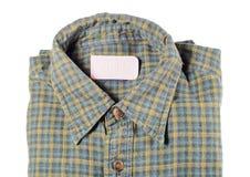 Camisa plegable imagen de archivo libre de regalías
