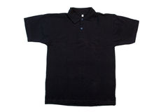 Camisa preta de t Imagens de Stock