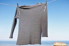 Camisa rayada Imagen de archivo libre de regalías