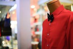 Camisa roja Imágenes de archivo libres de regalías