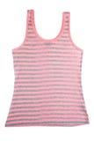 Camisa sleeveless descascada Imagens de Stock Royalty Free