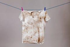 Camisa suja Imagem de Stock Royalty Free
