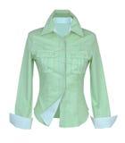 Camisa verde Foto de Stock