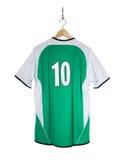 Camisa verde do futebol Imagens de Stock
