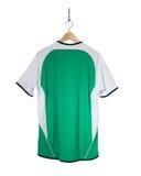 Camisa verde do futebol Imagens de Stock Royalty Free