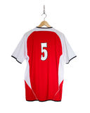 Camisa vermelha do futebol Imagens de Stock