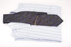 Camisa y lazo Imagen de archivo libre de regalías