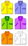 Camisas Imagen de archivo libre de regalías