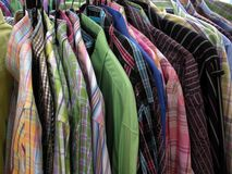 Camisas. Foto de Stock Royalty Free