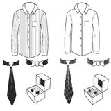 camisas stock de ilustración