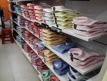 Camisas arranjadas em seguido Imagens de Stock Royalty Free