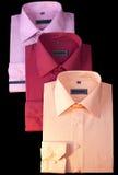 Camisas da roupa do negócio Fotos de Stock Royalty Free