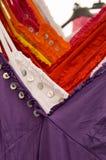 Camisas de la mujer colorida Fotografía de archivo libre de regalías