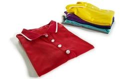 Camisas de polo Fotografia de Stock Royalty Free