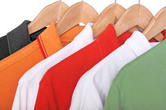 Camisas de polo Foto de Stock Royalty Free