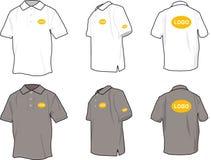 Camisas de polo foto de archivo libre de regalías