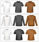 Camisas de polo y camisetas. Foto de archivo libre de regalías