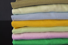 Camisas de T fotografia de stock