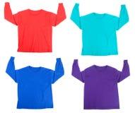 Camisas de te Fotografía de archivo libre de regalías