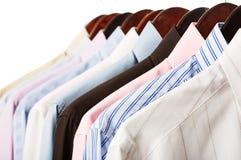 Camisas del asunto Imagen de archivo libre de regalías