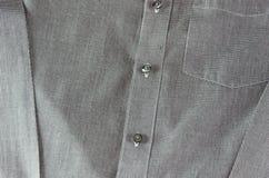 Camisas del botón Fotografía de archivo libre de regalías