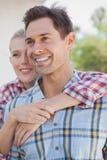 Camisas del control de los pares jovenes de la cadera que llevan Imagen de archivo libre de regalías
