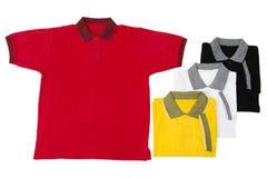 Camisas del golf Fotografía de archivo