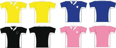 Camisas do futebol Fotografia de Stock