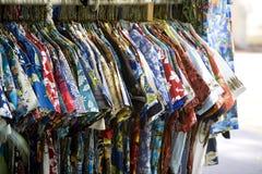 Camisas hawaianas Fotografía de archivo
