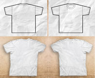 Camisas lisas Foto de Stock