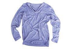 Camisas longas cinzentas da luva Imagem de Stock Royalty Free