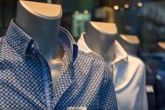 Camisas masculinas Imágenes de archivo libres de regalías