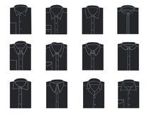 Camisas para hombre stock de ilustración