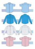 Camisas para los hombres ilustración del vector