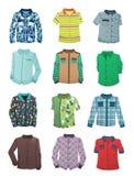 Camisas para los muchachos ilustración del vector