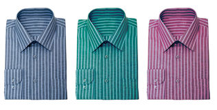Camisas rayadas Foto de archivo libre de regalías