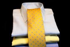 Camisas y lazo Imágenes de archivo libres de regalías
