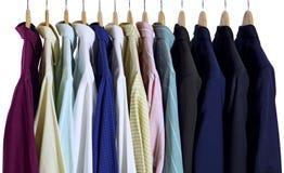 Camisas y trajes Foto de archivo libre de regalías
