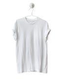 Camiseta blanca Imagenes de archivo