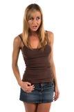 Camiseta de alças Foto de Stock