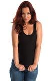 Camiseta de alças fotografia de stock