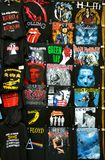 Camiseta de la roca Imagen de archivo libre de regalías