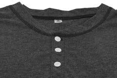 Camiseta de los HOMBRES aislada en el fondo blanco Fotos de archivo libres de regalías