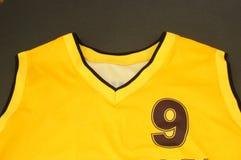 Camiseta del baloncesto Fotos de archivo libres de regalías