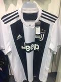 Camiseta del equipo de fútbol de Juventus' fotografía de archivo libre de regalías