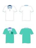 Camiseta en blanco Imágenes de archivo libres de regalías