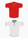 Camiseta en blanco Foto de archivo libre de regalías