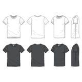 Camiseta en blanco Fotos de archivo libres de regalías