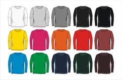 camiseta larga determinada, vector Foto de archivo libre de regalías