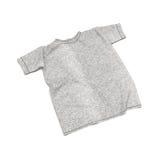 Camiseta plana en el fondo blanco Fotos de archivo libres de regalías